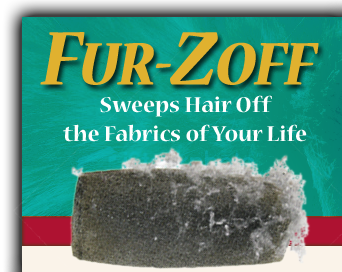 Fur-Zoff Sweeps Hair Off the Fabrics of Your Life